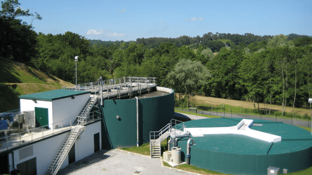 Municipal Water Treatment : Alfa laval bassussarry france mbr